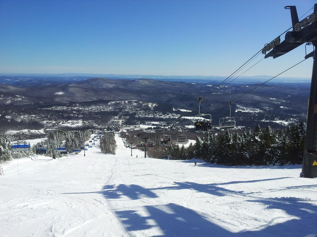picture of top of main face with new 6 person bubble chair on right