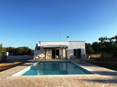 Photo for House with private pool in olive grove 3 km from the sea of ​​Torre Guaceto and 12 km from Ostuni