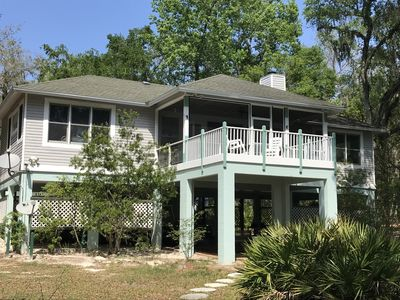 "Photo for ""SUWANNEE HOUSE"" LARGE SUWANNEE RIVERFRONT 3/3 w/ OPTION TO 4/4, 6+ACRES(1 of 3)"