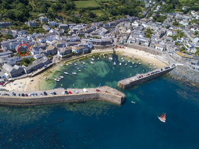 Photo for Upper Wesley House, Mousehole - Stunning Sea Views