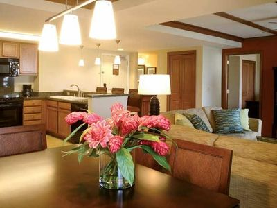 Photo for Spacious Suite w/ Tennis, Swimming, Free WiFi, Full Kitchen & Private Balcony