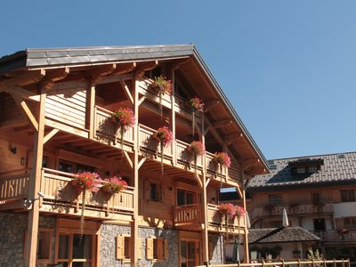 Photo for FURNISHED APARTEMENT IN RESIDENCE LA GRIYOTIRE PRAZ SUR ARLY