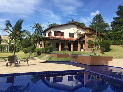 Photo for COUNTRY HOUSE IN CONDOMINIUM CLOSE TO 3KM FROM THE CENTER OF IBIUNA