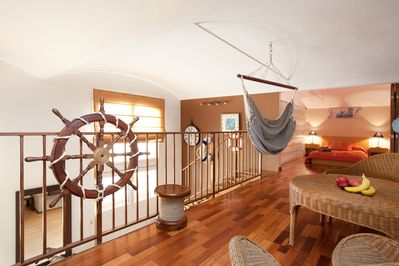 """""""ACOMODIS"""" apartments - The hammock is also perfect for a Spanish Siesta!"""