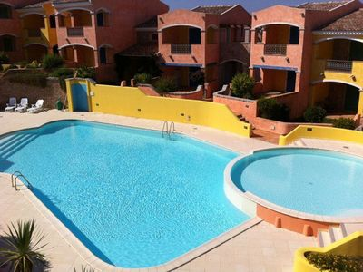 Photo for Holiday Apartment with Air Conditioning, Terrace, Pool & Garden; Parking Available; Pets Allowed