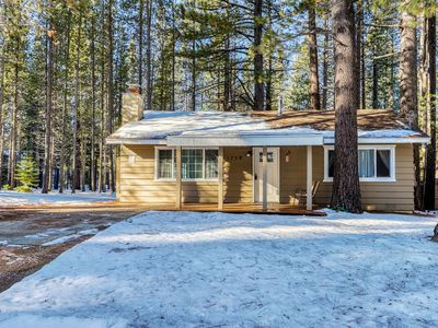 Photo for NEW LISTING! Cozy, dog-friendly, mountain home close to skiing & hiking trails