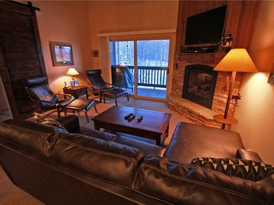 Photo for Snow Flower Condo #122, 2 bed/loft 3 bath, sleeps 7, SKI-IN/SKI-OUT to Park City Mountain Resort