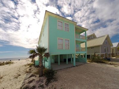 The Seafoam vacation home from West Beach Blvd in Gulf Shores, Alabama
