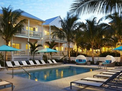 Photo for CLOSE TO ATTRACTIONS, TWO ELEGANT UNITS FOR 8 GUESTS! 3 POOLS, TIKI BAR!