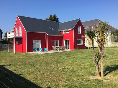 Photo for House classified wood 4 * 50m from the beach - 12 pers - Denneville - Cotentin