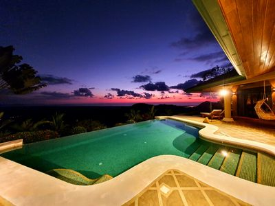 Photo for studio for 4 Private Pool - 180 º Sea View - Corcovado national park Caño island