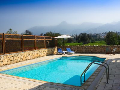 Photo for beautifully designed villa with outstanding mountain views
