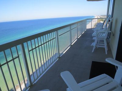 Photo for Beautiful Beachfront Private 49' Wrap-Around Balcony