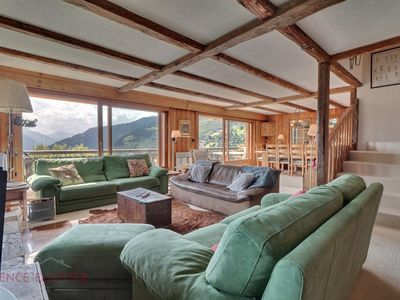 Photo for Nice chalet on 3 floors, 12 Persons, Les Esserts.  Composition:  • Living room with fireplace, t