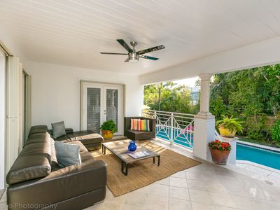 Photo for Beautiful 5/4 home with pool ready to move in in prestigious Key Biscayne!