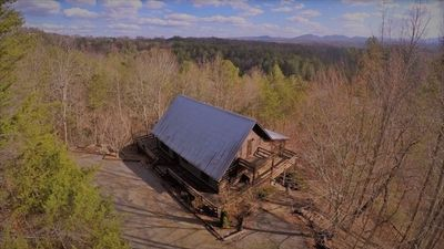 Photo for Beautiful all season's view of the Blue Ridge Mountains  Quiet 3 Bdrm Cabin
