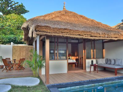 Photo for Elegant one bedroom villa with private pool