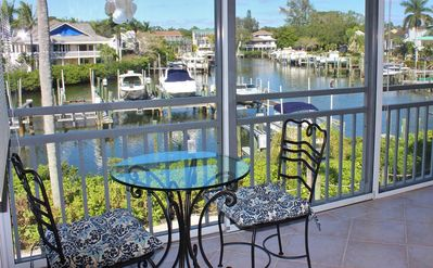 Photo for Family-Friendly 3-bedroom Watch the Dolphin and Manatee from Your Lanai on Siesta Key