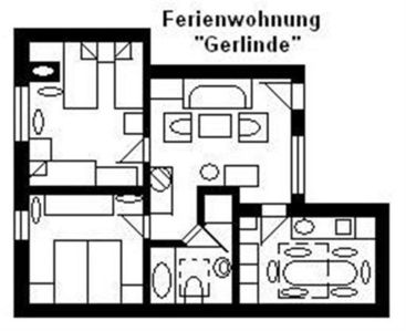 "Photo for Apartment ""U3"" for 1- 6 persons, 25 km to Frankfurt-Nord - House U, for 1-15 persons, 25km to FFM-Nord"
