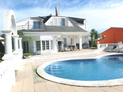 Photo for 3 bedroom Villa, sleeps 9 in Sant Genís de Palafolls with Pool and WiFi