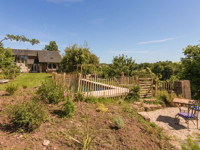 Photo for Farm with detached guest house, magnificent views and private pool.