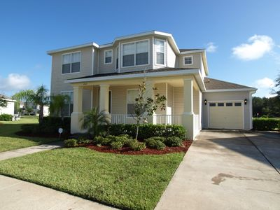 Photo for 5 Bed 4.5 Bath Pool home with Spa in Resort Community.  Games Room and Free Wi-Fi