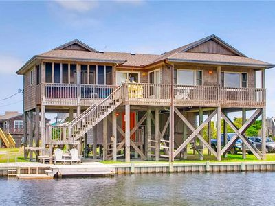 Photo for Find Tranquility at Canalfront Home in Avon w/ Boat Dock, Hot Tub, Dog-Friendly