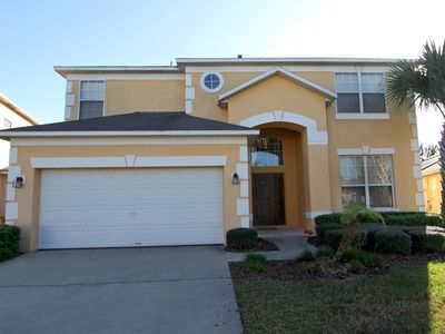 Photo for 3 Miles to Disney/Gated Resort/South-Facing Pool/SPA/6BR/5.5BA(4masters)/WiFi