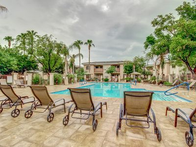 Photo for New! Heated pool! Gated Quiet Friendly  -  Cardinals, Dodgers & White Sox games!