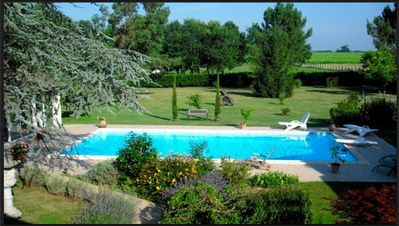 Photo for 2BR Apartment Vacation Rental in Lamothe-Montravel, Nouvelle-Aquitaine