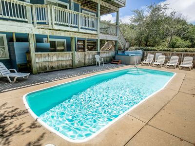 Photo for Aweigh From It All | 2300 ft from the beach | Dog Friendly, Private Pool, Hot Tub