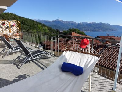 Photo for New bright and sunny apartment with large terrace, panoramic views & free Wi-Fi
