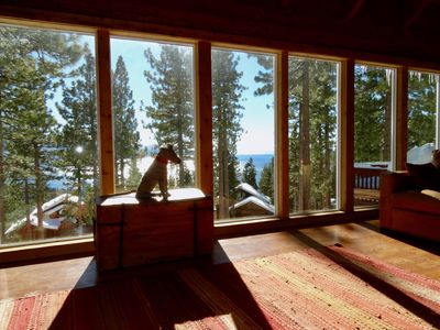 Photo for Incredible Lake View 4br/2ba Incline Village Cabin, private, pets considered