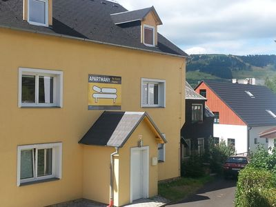 Photo for Apartment house in the Ore Mountains, only 1km from the valley station / Loučná - Keilberg /