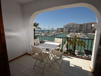 Photo for Stunning View 2 bedroom apartment , Marina and beach front locatio