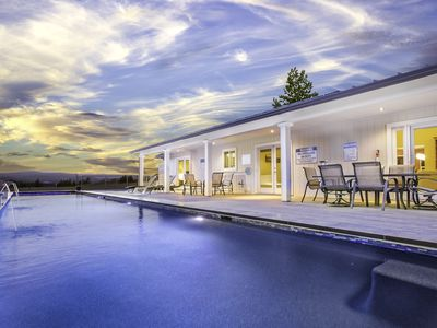 Photo for Bella Terra- Upscale Modern Home, With Pool and Spa Combo