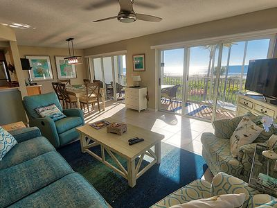 Photo for Two Bedroom Gulf Front Condo, Located off of Middle Gulf Drive - Sanibel Surfside 117