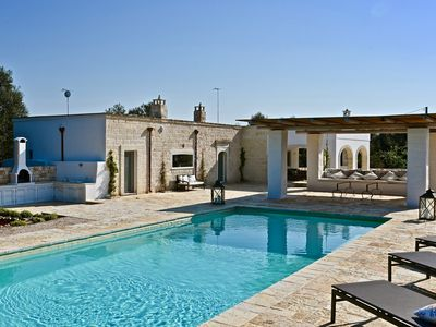 Photo for Casolare degli Ulivi, OSTUNI - Villa w private heated pool, WiFi, and AC/Heating
