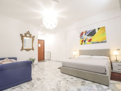 Photo for Elegant apartment located a few meters from Piazza Municipio