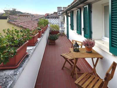 Photo for 7tetti - Apartment with terraces on the roofs of the historic center