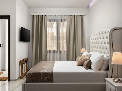 Photo for Pozzi Di Lusso Suite Luna, a ground floor 1-bedroom Suite in Chania Old Harbor