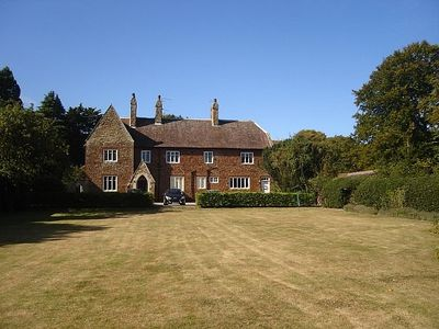 Front of The Old Vicarage