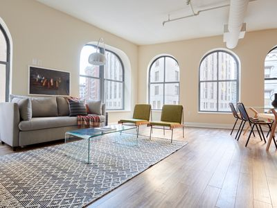 Photo for Sonder   Financial District   Grand 2BR + Sofa Bed