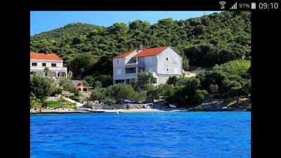 Photo for Beautiful Apartment By The Clear Korčula Sea | A1