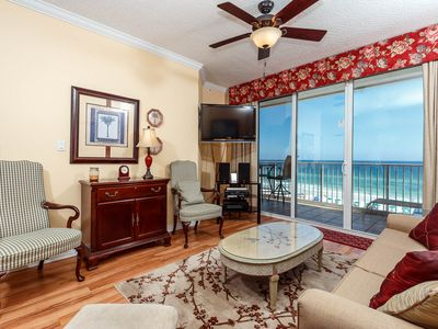 Photo for Gulf Dunes 504:Impressive 5th floor BEACH FRONT condo with FREE BEACH SERVICE