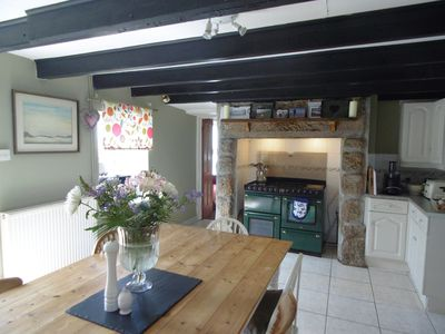 Photo for Spacious stylish Cornish cottage 1 km Sennen beach private garden views idyllic