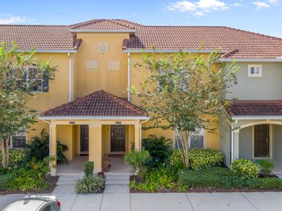 Photo for Paradise Palms Resort 4 Bed 3 Bath Town Home With South Facing Pool Only 8 Minutes To Disney
