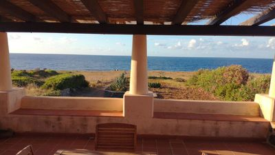 Photo for The house under the stars. Villetta Ustica with garden a few steps from the sea