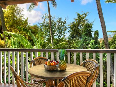 Photo for Waikomo Stream Villas #532: Quiet Garden View & Walk to Kiahuna Beach