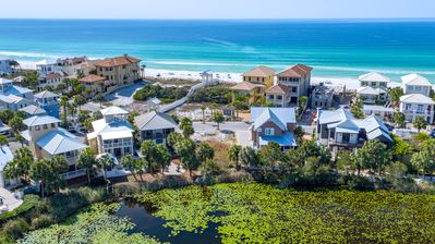 Carillon Beach is a sequestered, gated community on the Gulf of Mexico